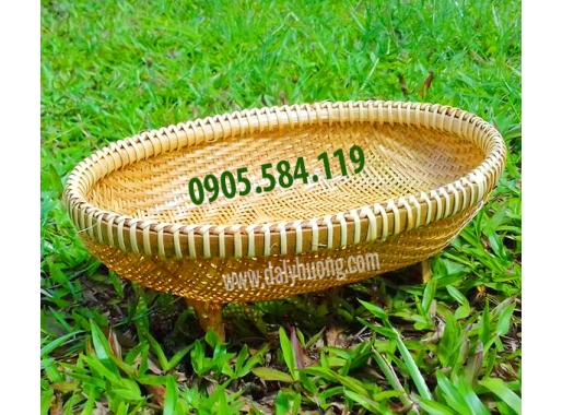 Rổ tre oval