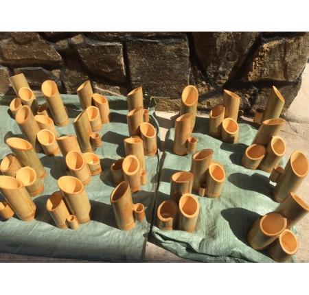 ống đũa tre 4 món